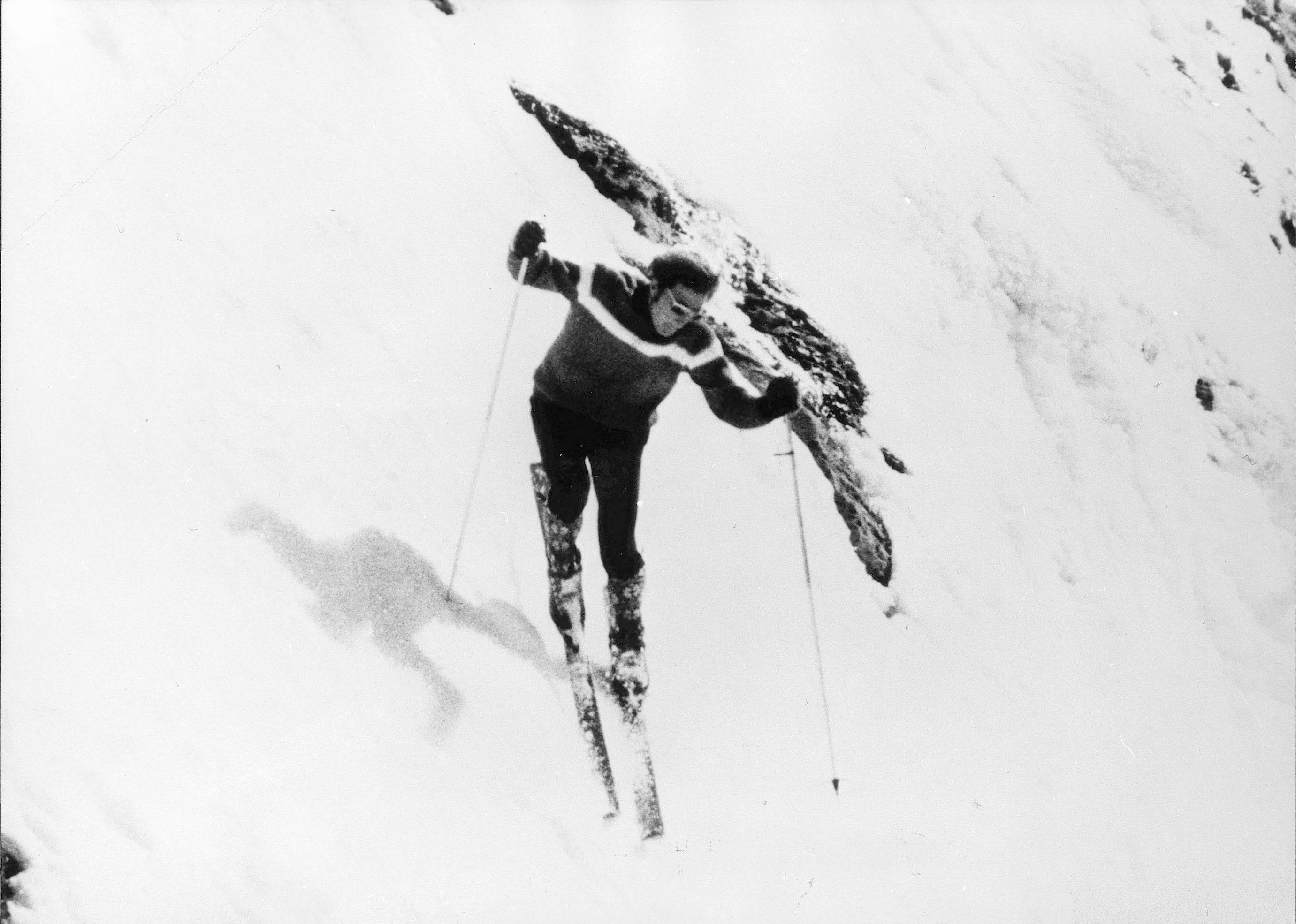 Le skieur de l'impossible