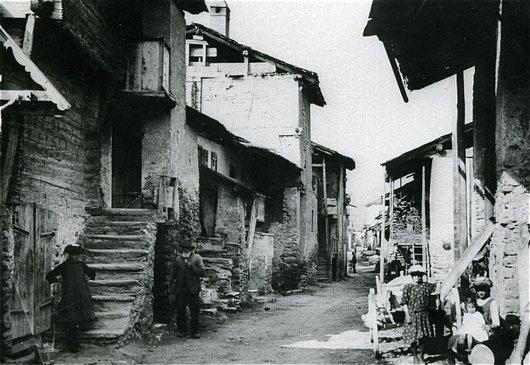 Le village de Muraz, hier