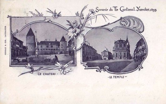 Yverdon  Tir cantonal 1899