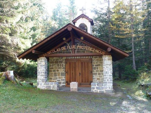 Derborence et sa chapelle