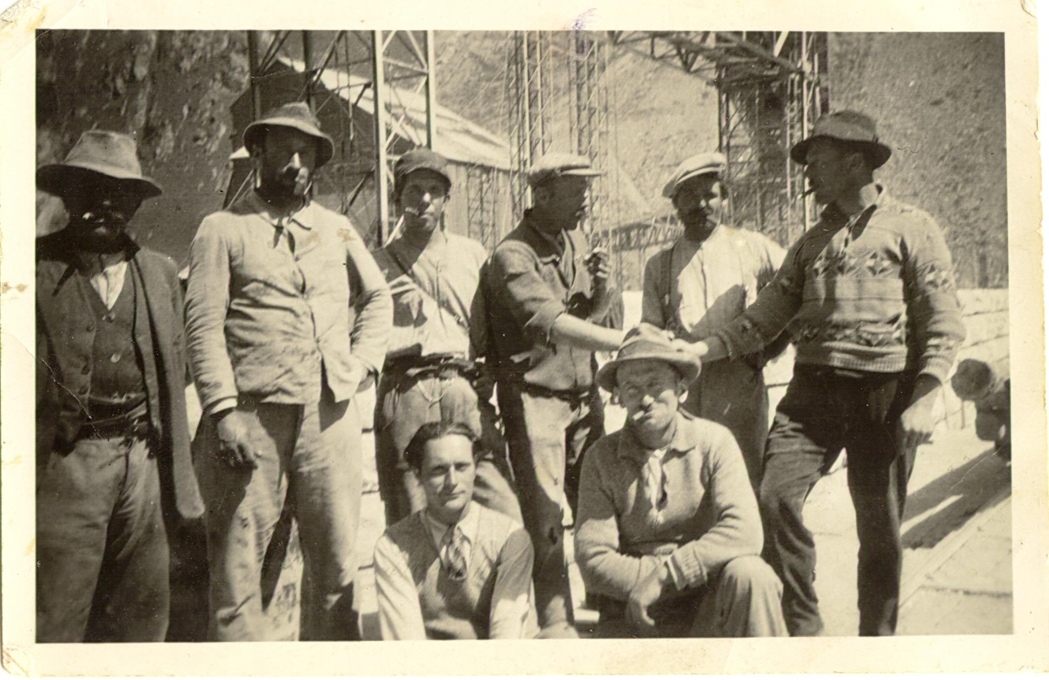 Ouvriers de la Dixence