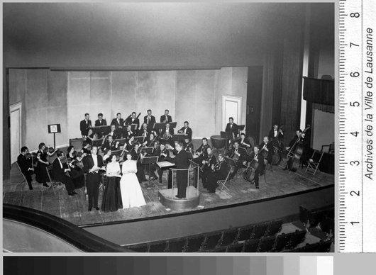 Concert OCL dirigé par Victor Desarzens au Théâtre municipal