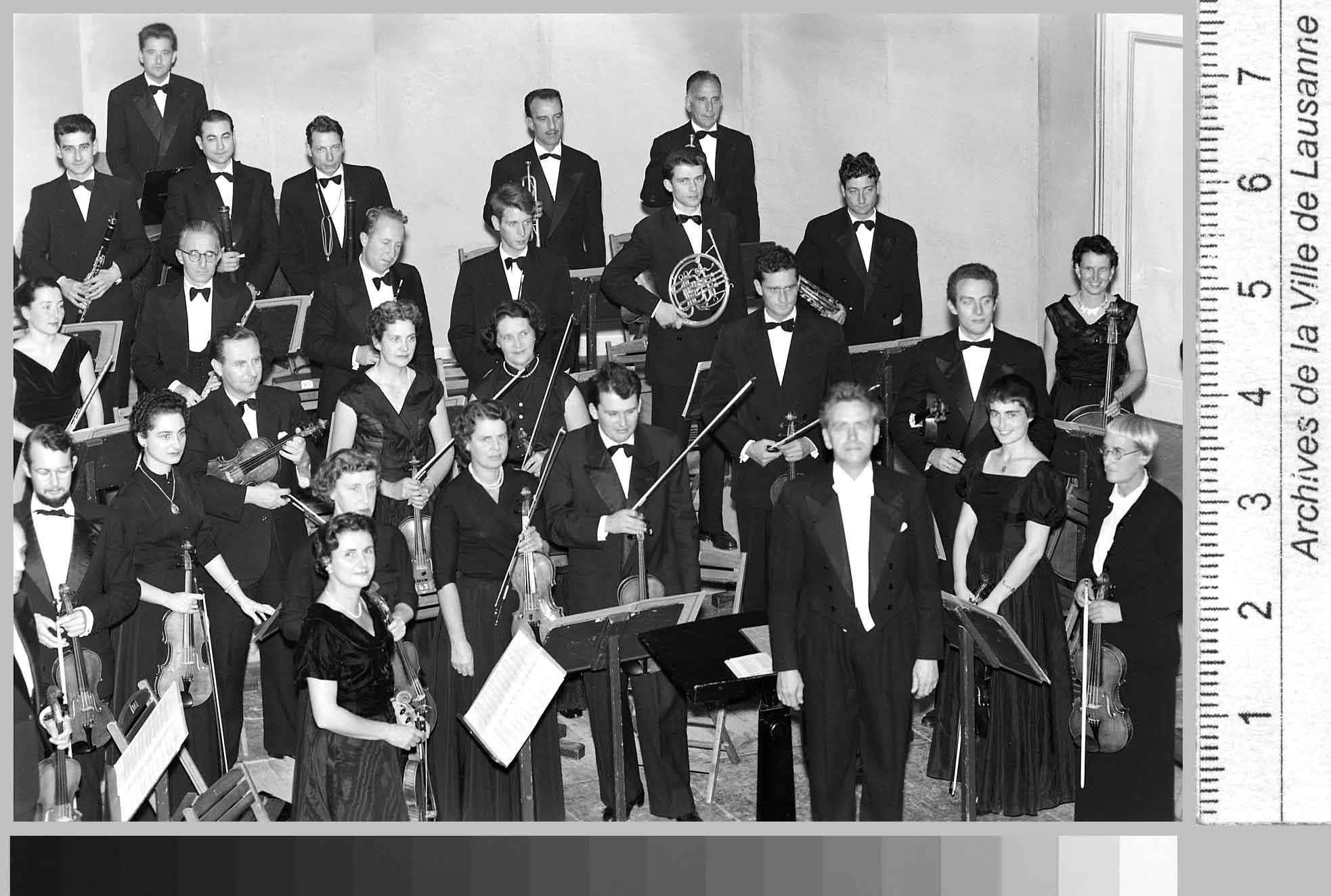 Les musiciens de l'OCL au Théâtre Municipal