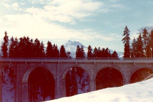 Le Grand-Pont entre Chesières et Villars