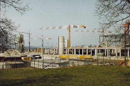 Palexpo Construction 1980 plan large