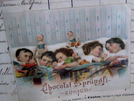 Le chocolat…c'est bon pour les enfants….pub