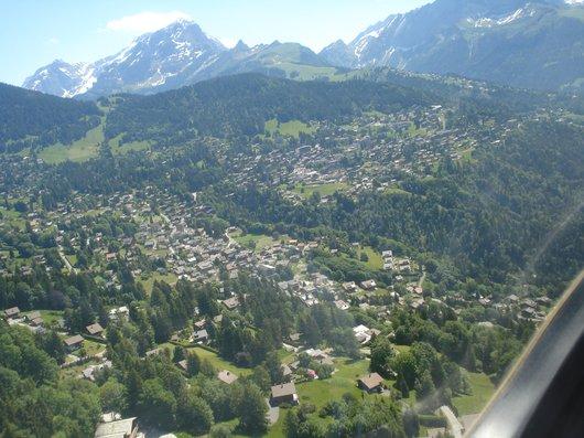 Vue aérienne Chesières-Villars-sur-Ollon