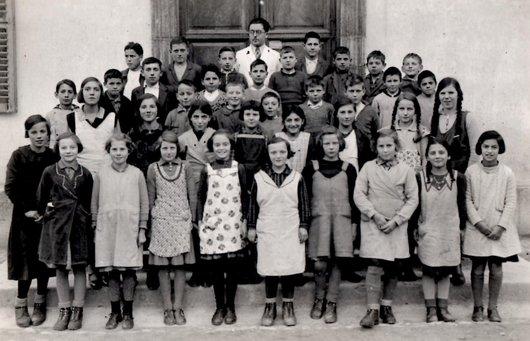 Ecole primaire Ollon 1936 M. Pochon