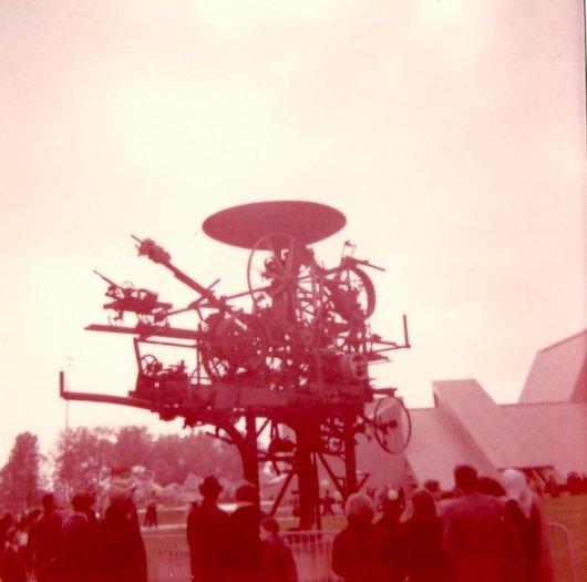 Expo 64 La machine à Tinguely