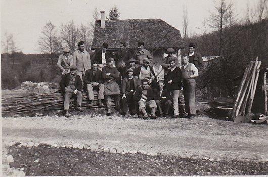 Versoix La Bâtie Camp de travail 1941