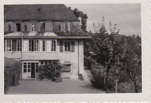 Lausanne - Maison de repos de Boissonnet 1946