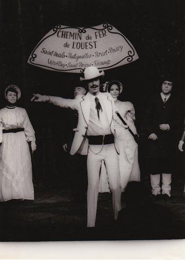 Compagnie romande d'opérette Salle Pittoëff 1969