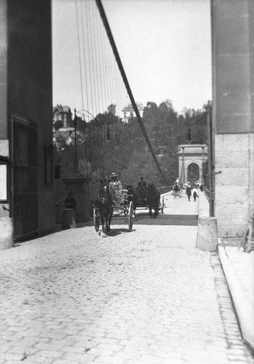 Fribourg / Grand-Pont (actuel Pont de Zaehringen)