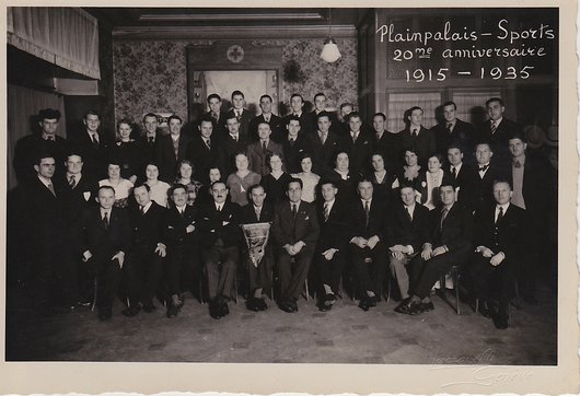Plainpalais Sports 1935