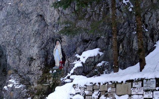 Grotte mariale - Grandvillard