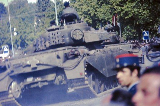 Char à Ouchy en 1967