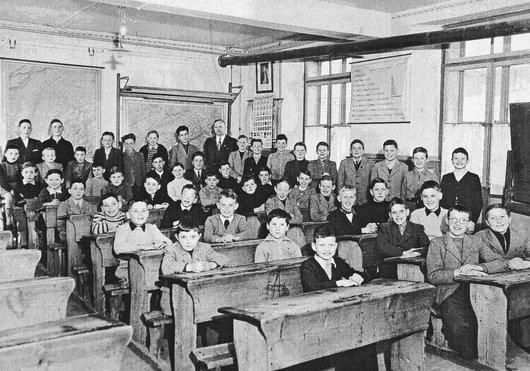 Lentigny, Ecole des garçons