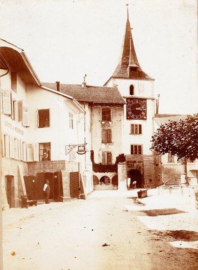 Le Landeron - l'Hôtel de Nemours