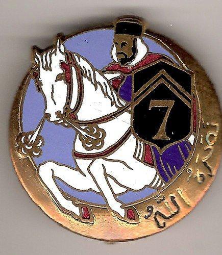 Insigne du 7° régiment de Spahis