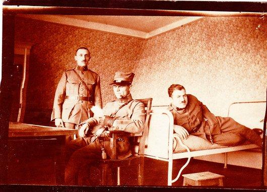 Colombier - Ecole d'officiers 1917