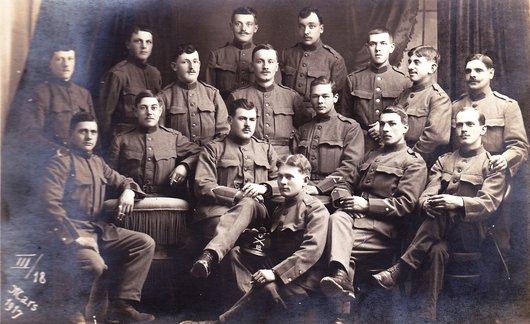 Sous les drapeaux 1917