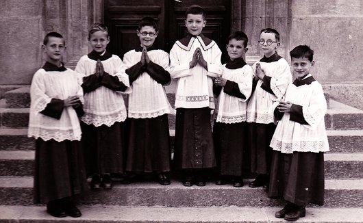 Le Landeron - Servants de messe
