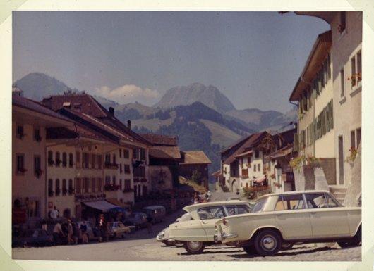 Gruyères à la fin des années 60