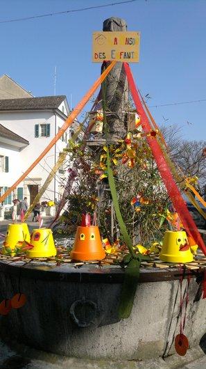 Fontaine de Nyon- Place du Marché