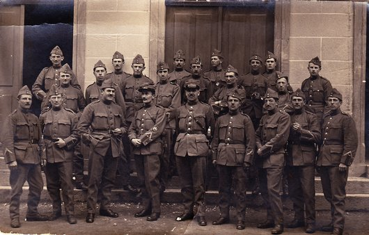 Colombier - Ecole de recrues 1915