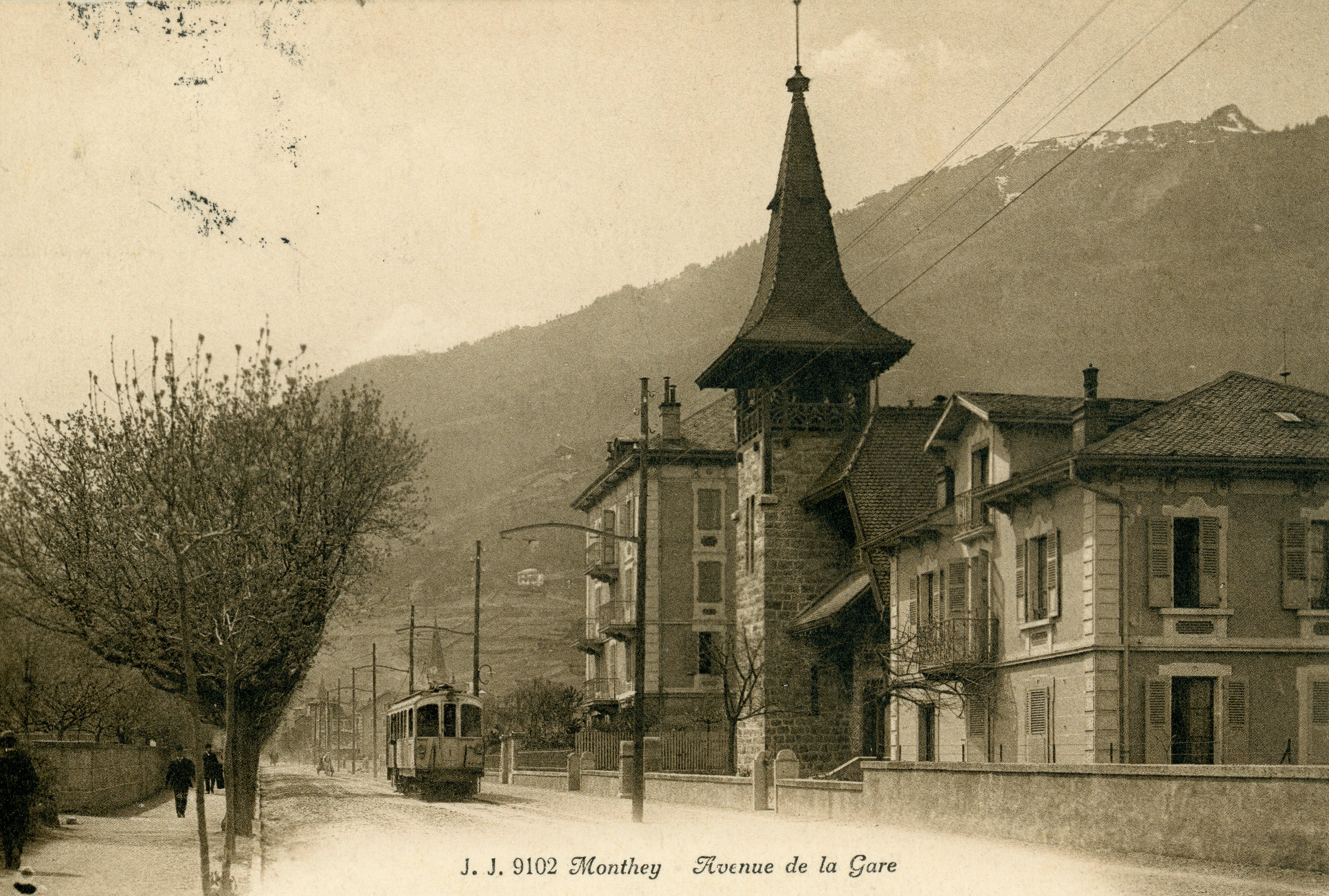 Monthey - Avenue de la Gare