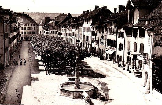 Le Landeron - La Ville vers 1939