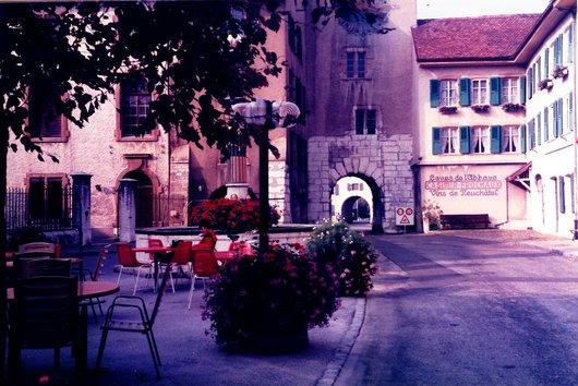 Le Landeron - Promenade et Caves de l'Abbaye