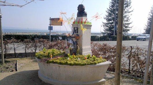 Fontaines décorées à Nyon