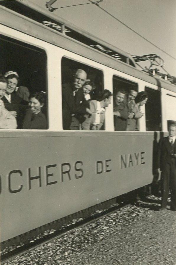 Train des Rochers-de-Naye