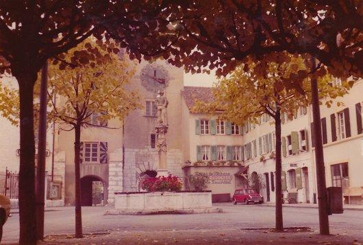 Le Landeron - Fontaine du Vaillant