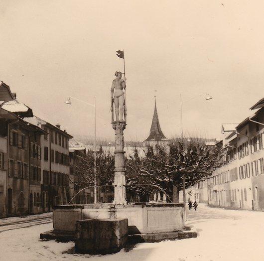 Le Landeron - Fontaine de Saint-Maurice