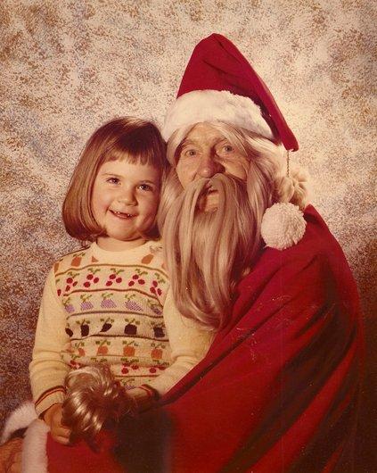 Le Père Noël à la Placette
