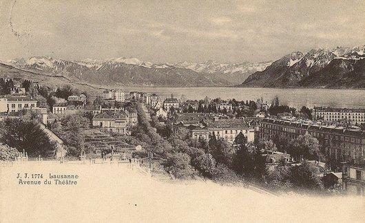 Avenue du Théâtre - Lausanne