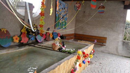 Fontaine décorée de Signy