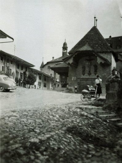 Gruyères en 1951