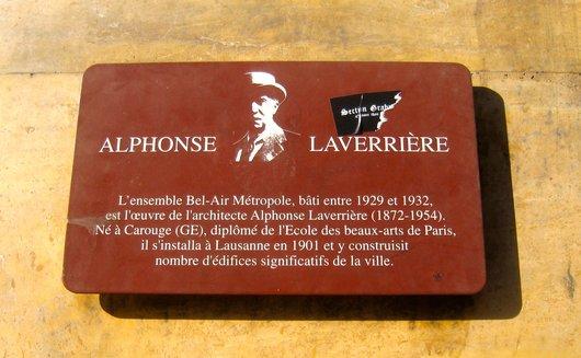 Alphonse Laverrière, architecte
