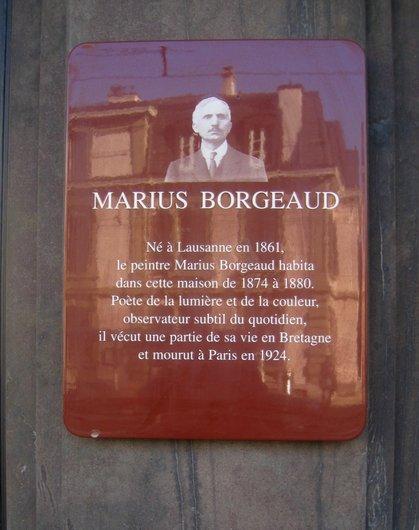 Marius Borgeaud, peintre