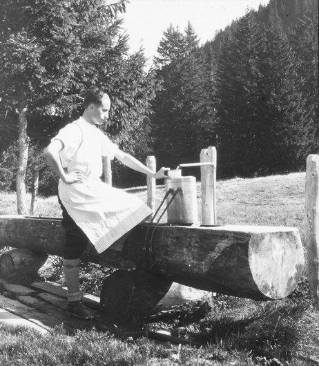 Alfred Leyvraz à la Borbuintze
