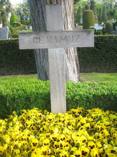 Tombe de Charles Ferdinand Ramuz