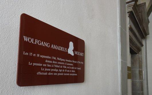 Wolfgang Amadeus Mozart - Le séjour à Lausanne