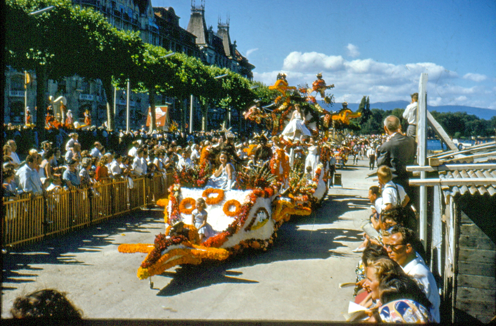 Fêtes de Genève 1957