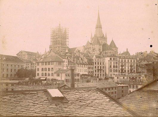 Cathédrale de Lausanne - Restauration du beffroi
