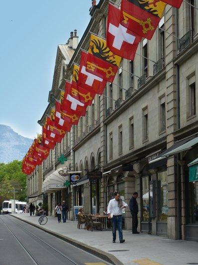 Rue de la Corraterie Genève