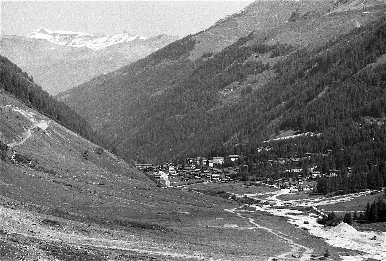 Le village de Zinal