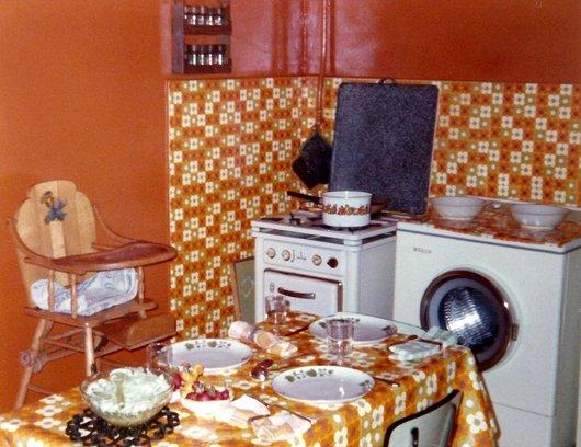 Cuisine des années 70